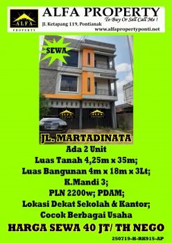 Ruko Martadinata, Pontianak, Kalimantan Barat #1