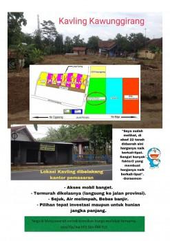 Kavling Siap Bangun Strategis Di Kawunggirang-majalengka. #1