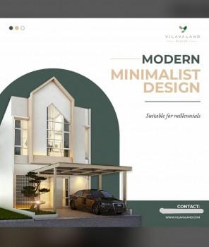 "Promo Cash Rumah 2 Lantai Harga 1 Lantai Hunian Berkualitastype 68/84 ""design Modern Minimalist"" #1"