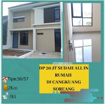 Investasi Properti Promo Dp 20jt Miliki Rumah Di Bandung Selatan Cangkuang Soreang 15 Menit Tol Soreang #1