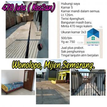 Rumah Kos Wonolopo, Mijen Semarang #1