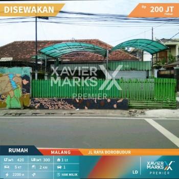 *disewakan Rumah Jl Raya Borobudur  Malang* #1