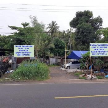 Tanah Murah Banget Lokasi Strategis Sangat Cocok Untuk Usaha Di Ranomuut Wenang Kota Manado Sulawesi Utara #1