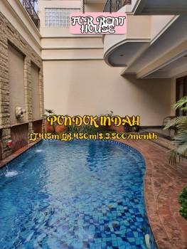 Disewakan Rumah Mewah Lux Semi Furnish Di Pondok Indah Harga Nego Jakarta Selatan #1