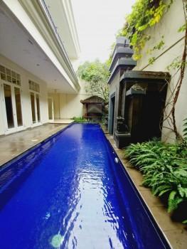 For Rent House Luxury Lt.600m~lb.550m Di Kemang Jakarta Selatan #1