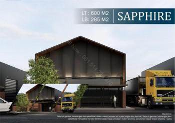 Eternity Office Warehouse Tipe Sapphire Cilegon #1