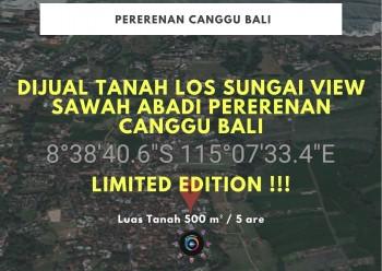 Dijual Tanah Los Sungai View Sawah Abadi Pererenan Canggu Bali #1