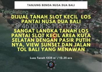 Dijual Tanah Slot Kecil Los Pantai Nusa Dua Bali #1