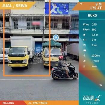 Ruko Di Jl. Kyai Tamin Pasar Besar Malang #1