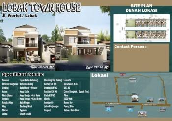 Di Jual Rumah Cluster Cantik Berkonsep  Tropis 2 Lantai Di Jl Lobak #1