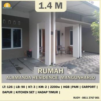 Dijual Rumah Eksklusif Alamanda Residence Sambiroto Semarang Selatan #1