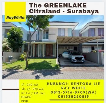 Dijual Rumah The Greenlake Citraland Surabaya - Garasi 4 Mobil Dekat Pakuwon Mall #1