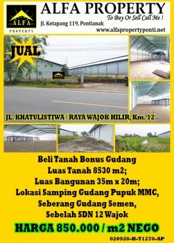 Tanah Raya Wajok Hilir Km. 12, Pontianak, Kalimantan Barat #1