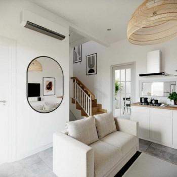 Rumah Cluster Baru Dengan Konsep Scandinavian Di Dekat Serpong #1