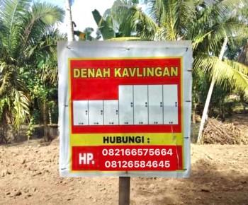 Dijual Cepat Tanah Kavlingan Di Jln Danau Maninjau, Padang Merbau, Tebing Tinggi #1