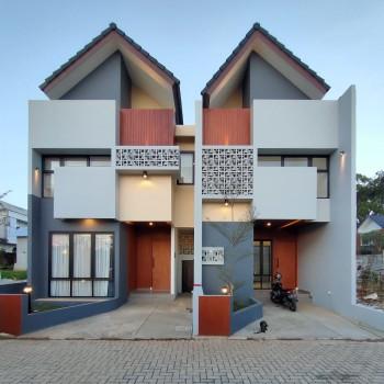 Rumah Modern Asri Dan Nyaman Model Tropis Exclusive Nempel Bintaro #1