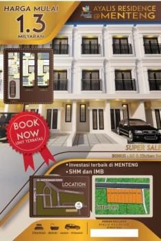 Dijual Aparthouse Ayalis Residence Di Menteng Jakarta Pusat Sangat Strategis #1