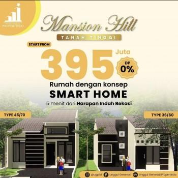 Rumah Smart Home Lokasi Strategis Nempel Kota Harapan Indah Timur Jakarta Bekasi #1