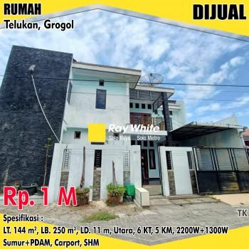 Rumah Minimalis Modern Telukan Grogol Siap Huni #1